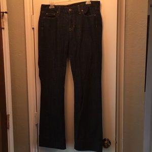 Boys Bootcut J.Crew Dark Jeans